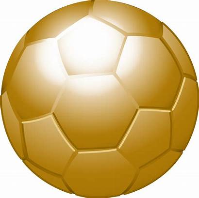 Ball Gold Football Svg Golden Wikimedia Commons
