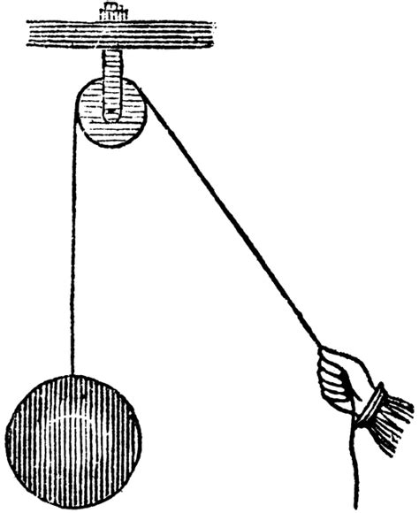 Simple Pulley  ClipArt ETC