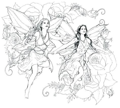 Gothic Fairy Coloring Pages For Adults at GetColorings com