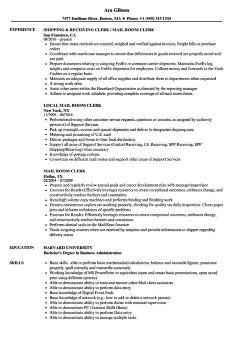 file room clerk cover letter funky file room clerk resume sle ideas exle resume
