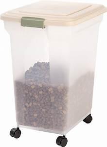 IRIS Premium Airtight Dog Cat Pet Food Storage Container ...