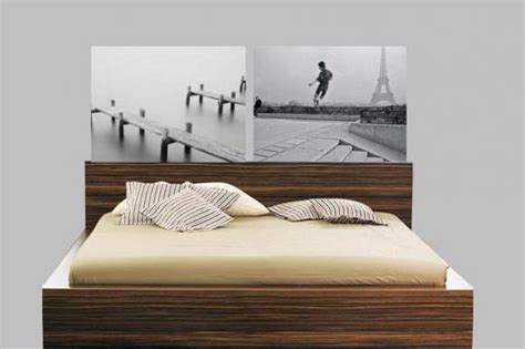 How To Make A Cheap Headboard by How To Make A Cheap Headboard For A Bed