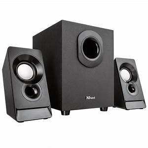 Trust 21038 Argo 2 1 Pc Speakers With Subwoofer For
