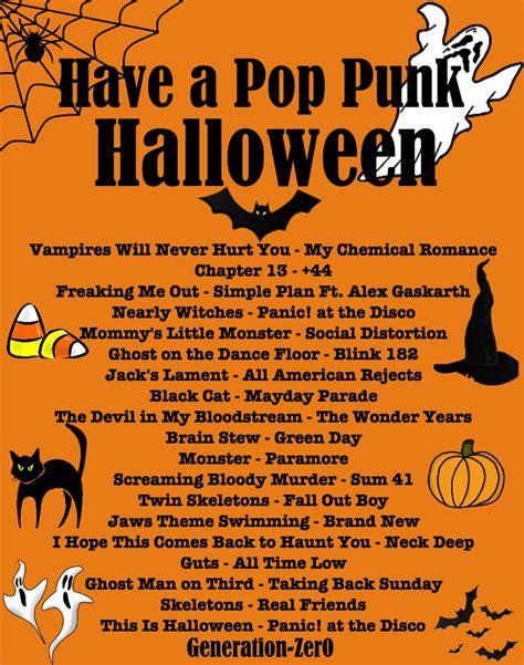 generation zer  spooky pop punk playlist listen