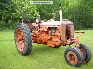 Case Dc Narrow Front Tractor With 3 - Point Hitch 1950 ' S ...