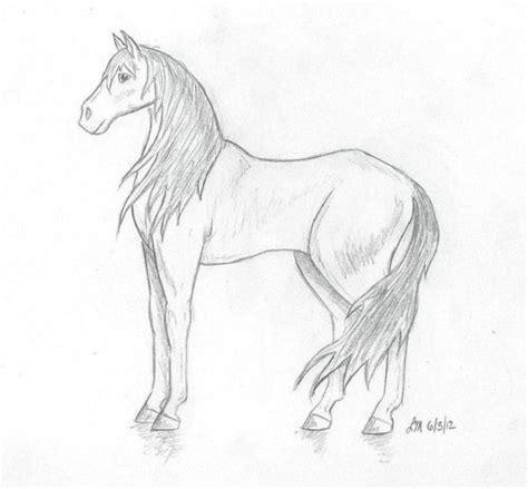 drawings  cartoon horses   clip art
