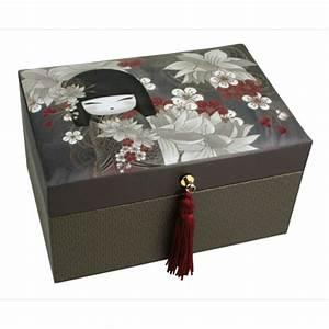 Boite A Bijoux Originale : kokeshi kimmidoll accessoires tatsumi boite bijoux kimmidoll ~ Teatrodelosmanantiales.com Idées de Décoration