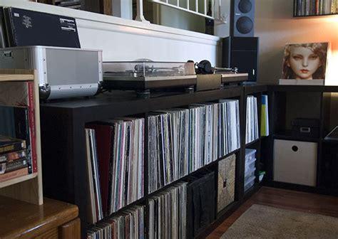 ikea studio hacks build  creative space   budget audio racks speaker stands desks