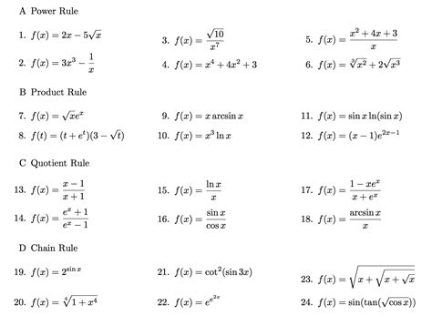 solved power rule f x 2x 5 square root x f x 3x 3 chegg