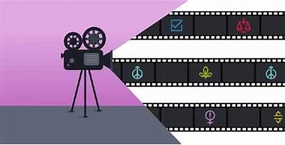 Movie Film Reels Camera Mood Documentaries Nominated