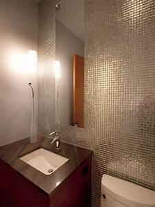 small bathrooms big design hgtv With small bathroom big or small tiles