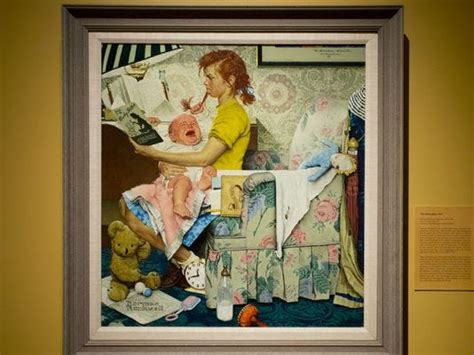 rockwell painting  examined  vermont