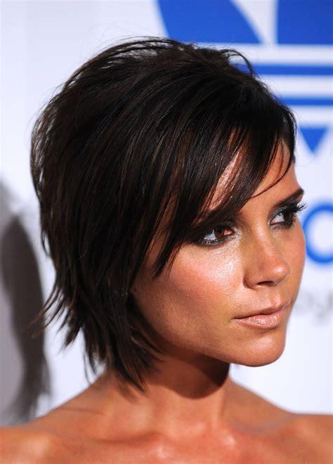 celebrity hairstyle victoria beckham medium haircut