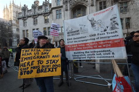 Pro-Brexit Protestors Called 'Racist' at Supreme Court Demo