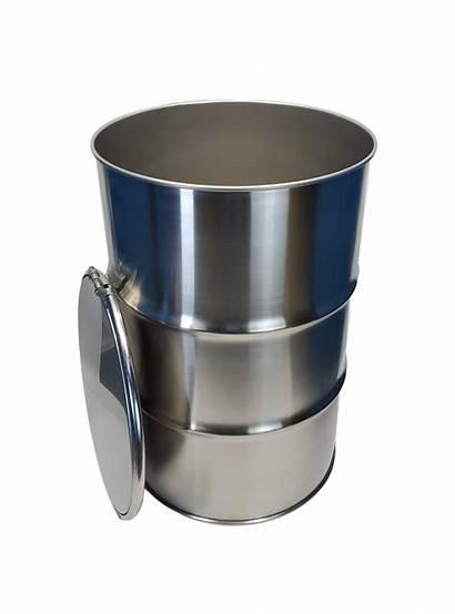 55 Barrel Steel Stainless Gallon Open Head