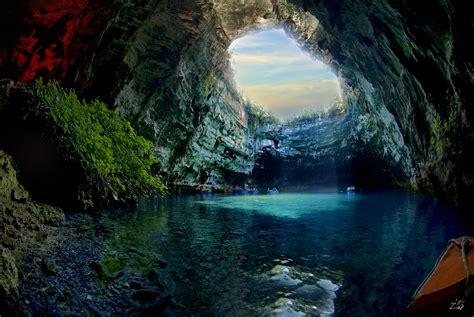 Stunning Nature of Melissani Cave, Greece | I Like To ...