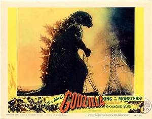 Godzilla 1956 set #2 / Issue #8 | Posters Details | Four ...