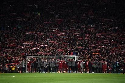 Liverpool Barcelona Players Kop Latest Night