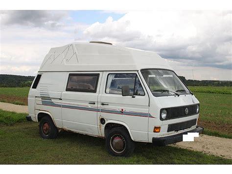vw t3 kaufen vw t3 hochdach reimo wohnwagen mobile kastenwagen in