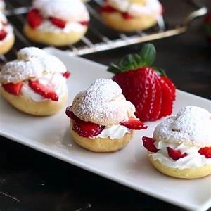 Dolce Vita Puff : strawberry cream puffs recipe la dolce vita dessert p tisserie g teaux et desserts ~ Frokenaadalensverden.com Haus und Dekorationen