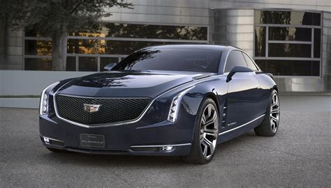 Cadillac Car : The Cadillac Elmiraj Concept Car Is The Modern-day 500hp