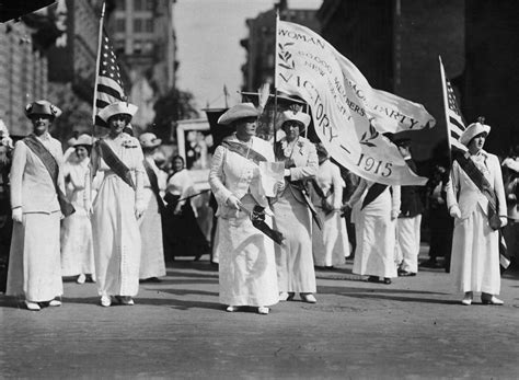 Woman In White Hillary Clinton's Suffragette Tribute
