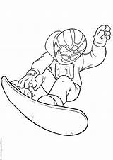 Snowboarding Coloring Pages Books Sonic Categories Similar Printable sketch template