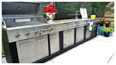 outdoor modular kitchen  organization youtube