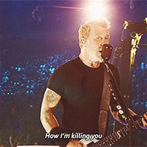 metallica James Hetfield Master of Puppets Through the ...