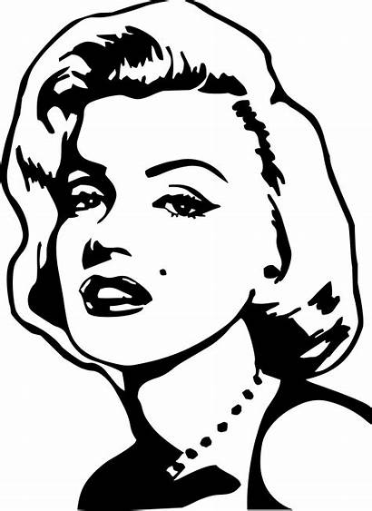 Marilyn Monroe Coloring Pages Easy Shelter Getdrawings