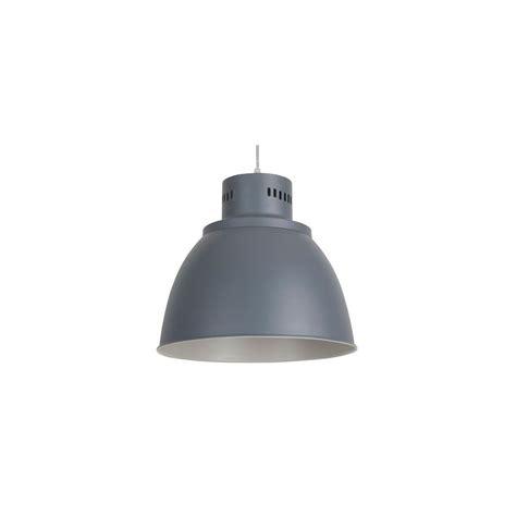 de cuisine professionnel suspension métal gris mat luminaire cuisine sur le
