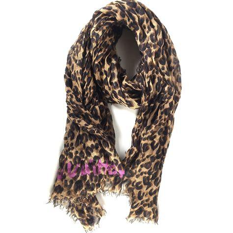 lv scarf cashmere sema data  op