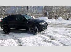 SNOW FUN BMW X6 50, V8 BiTurbo, 409 PS, XDrive YouTube
