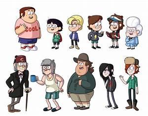 Gravity Falls Genderswap by TheCheeseburger on DeviantArt