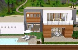 HD wallpapers maison moderne sims 4 www.27patterndesktop.ml
