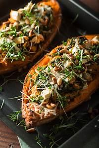 Spinat Und Feta : gef llte s kartoffel mit spinat und feta purple avocado ~ Lizthompson.info Haus und Dekorationen