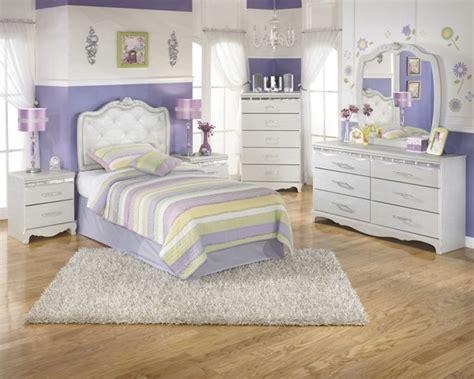 Silver Wood Glass Zarollina Youth Bedroom Set  The Classy
