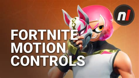 fortnite nintendo switch motion controls  broken
