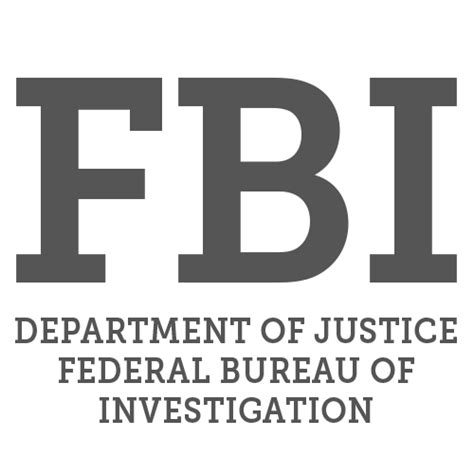 bureau of fbi department of justice federal bureau of