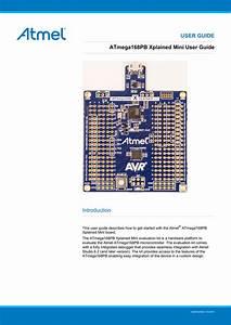 User Guide Atmega168pb Xplained Mini User Guide