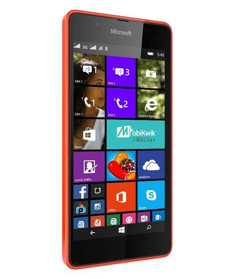 microsoft lumia 540 8gb mobile phones at low