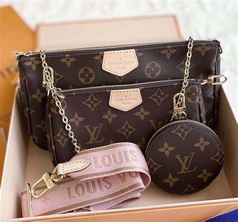 louis vuitton multi pochette accessories pink
