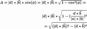 Vektorprodukt Berechnen : nachweis vektorprodukt fl cheninhalt parallelogramm ~ Themetempest.com Abrechnung