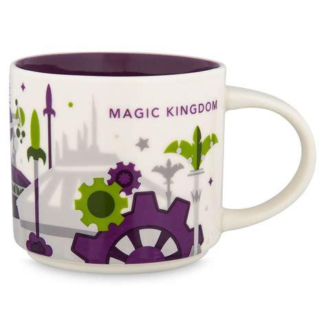 Coffee tea cup mug 4.75h. Disney Parks Starbucks You Are Here Magic Kingdom Coffee Mug Tomorrowl - I Love Characters