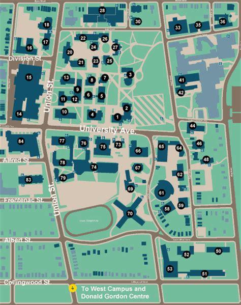 queens campus map