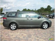 2011 Toyota Sienna V6 in Cypress Green Pearl 047817