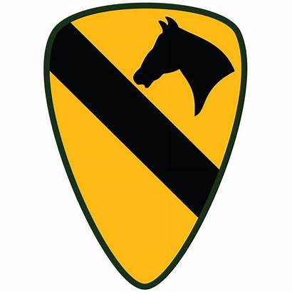 Division Army 1st Cavalry Insignia Clipart Patch