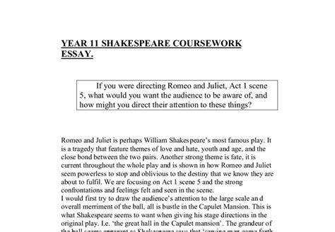 Romeo And Juliet Essays  Ivoiregion Romeo Juliet Essay Act  Scene  Custom Paper Service