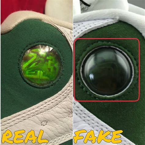 Putting 'real Vs Fake' Sneakers To The Test Ray Allen 13