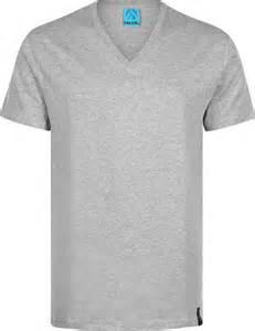 iriedaily gently v neck t shirt grey heather